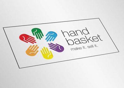 Handbasket logo d