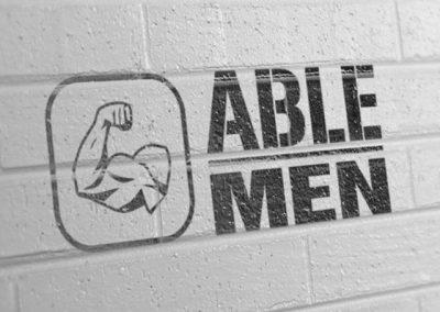 able d logo